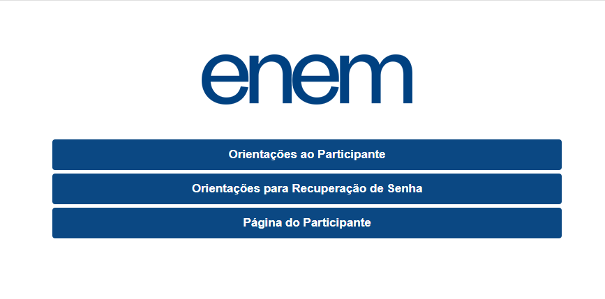 Inscrições ENEM 2020